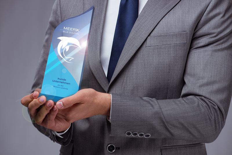 Meerx Award Blue Dolphin